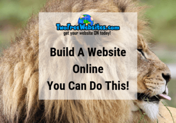 Build A Website Online | You Can Do This!