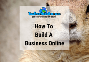 build a business online