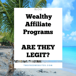 Wealthy Affiliate Programs