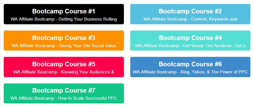 Affiliate Marketing Bootcamp