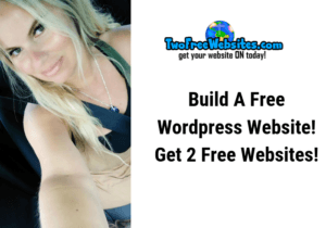 build a free wordpress website two free websites