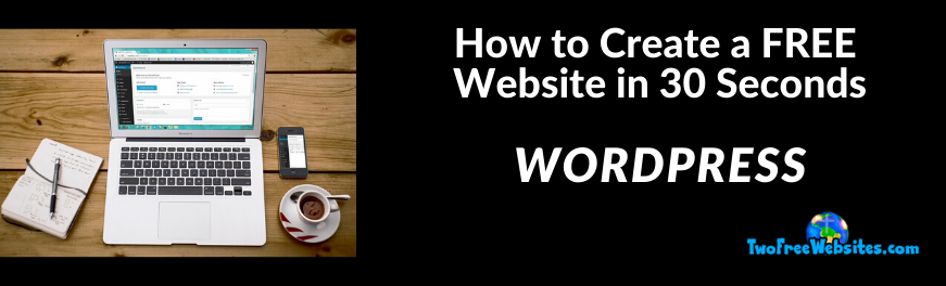 how to create a free website in 30 seconds (1)