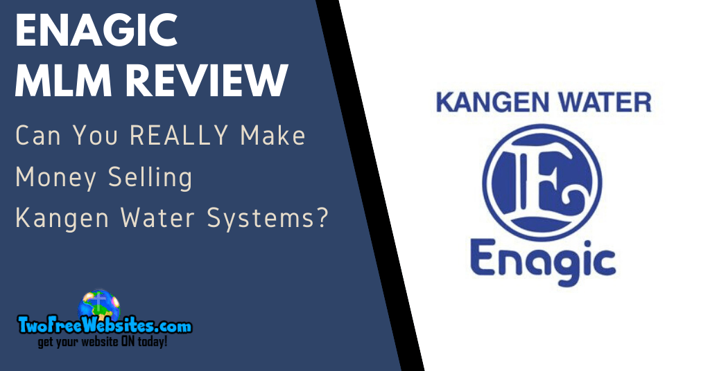 Enagic MLM Review Banner