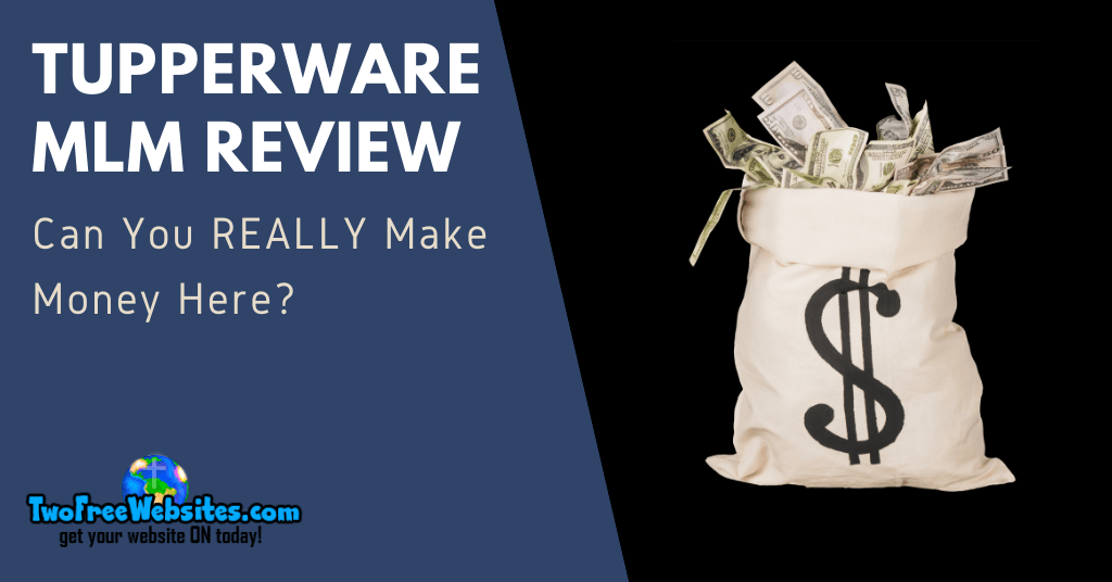 Tupperware MLM Review Banner