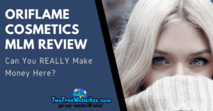 Oriflame MLM Review Banner
